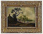 PIETER JANSZ. VAN ASCH Holland 1603-1678 Landskap