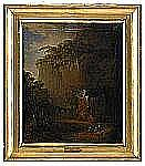 CARL JOHAN FAHLCRANTZ 1774-1861 Bergslandskap med