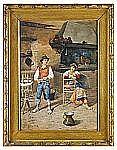 FILIPPO INDONI II Italien 1842-1908 Konversation i