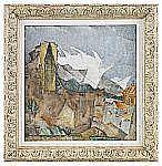 ALEXIS GRITCHENKO 1883-1977 Mistra Signerad och