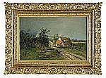 KARL SCHULTZE Tyskland 1856-1935 Landskap