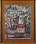 D´ANTY, Henry Maurice (1910-1998): Stadsbild,