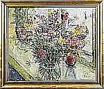 """MASON, Mats (1894-1983): """"Bukett med lupiner"""","""