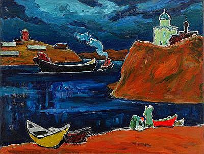 Ivan Ivanovich Godlevsky 1908-1999 The Shores of