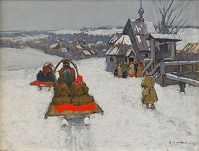 Andrei Afanasievich Yegorov 1878-1954 Winter