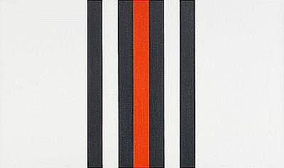 ANDREAS BRANDT Tyskland född 1935 Schwartz-Rot