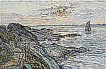 - ANNA GARDELL-ERICSON 1853-1939 Klippig strand -