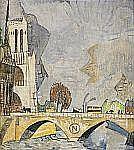 - ALEXIS GRITCHENKO 1883-1977 Le Pont Napoléon,