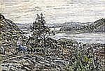 - ANNA GARDELL-ERICSON 1853-1939 Skärgårdsutsikt