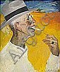 - PHILIP ANDREIEVICH MALIAVIN 1869-1940 Porträtt, Philip Maliavin, Click for value
