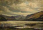 - THOMAS FEARNLEY Norge 1802-1842 Landskap från