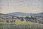 - CARL JOHANSSON 1863-1944 Blånande berg -