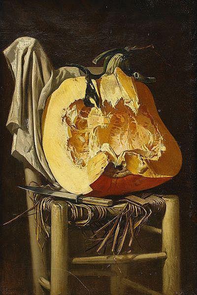 CHARLES HOGUET Frankrike 1821-1870 Stilleben med