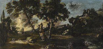 ANTONIO FRANCESCO PERUZZINI Italien c. 1643-1724,