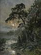 ANNA GARDELL ERICSON 1853-1939 Månsken över
