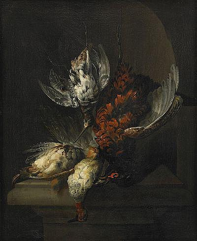 JAN WEENIX Holland 1640-1719, tillskriven