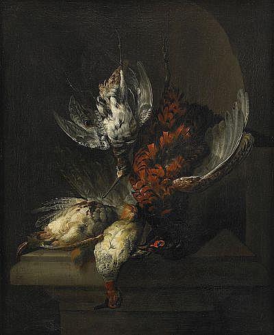 JAN WEENIX Holland 1640-1719, tillskriven