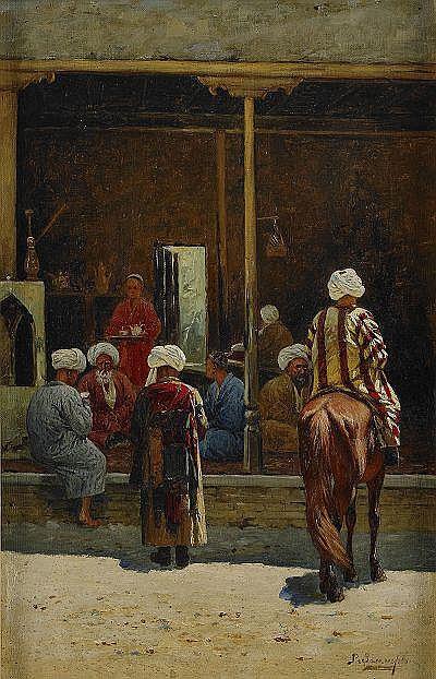 RICHARD KARLOVICH ZOMMER Ryssland 1866-1939
