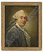 ALEXANDER ROSLIN hans krets, omkring 1780 Porträtt, Alexander Roslin, Click for value