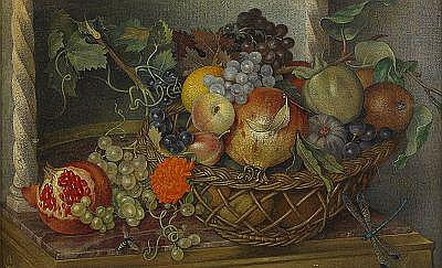 MAXWELL ASHBY ARMFIELD England 1882-1972 Fruits of
