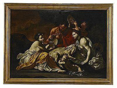 CARLO CIGNANI Italien 1629-1719, tillskriven