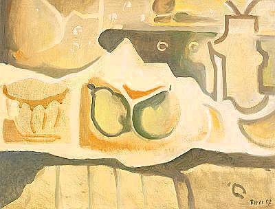 FRANCISCO BORES Spanien 1898-1972 Deux poires