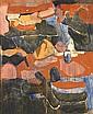 TORSTEN RENQVIST fodd 1924 Landskap med fragment, Torsten Renqvist, Click for value