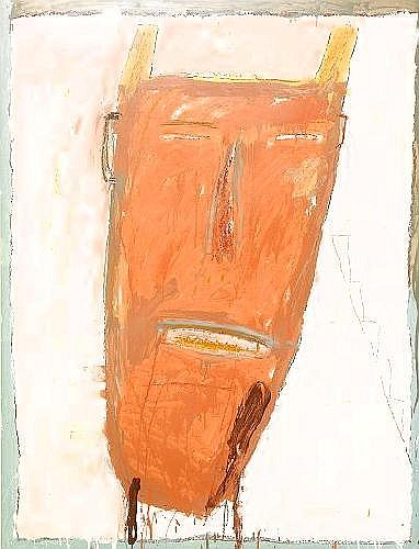 JAMES BROWN USA, fodd 1951 Untitled Face Signerad