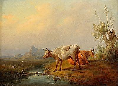 JAN BAPTISTE KOBELL II Holland 1778-1814,