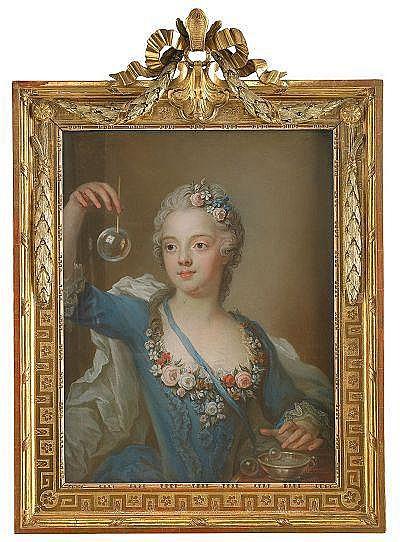 GUSTAF LUNDBERG 1695-1786 Fröken Beata Sparre