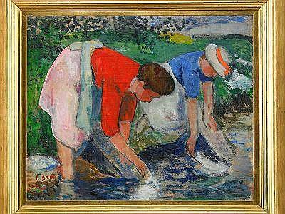 FRANÇOIS GALL Frankrike 1912-1987 Tvätterskor