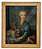 GEORG DESMARÉES 1697-1776, tillskriven Porträtt av, Georges Desmarees, Click for value