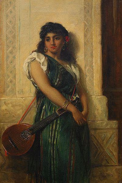THOMAS KENT PELHAM England, verksam 1860-1891