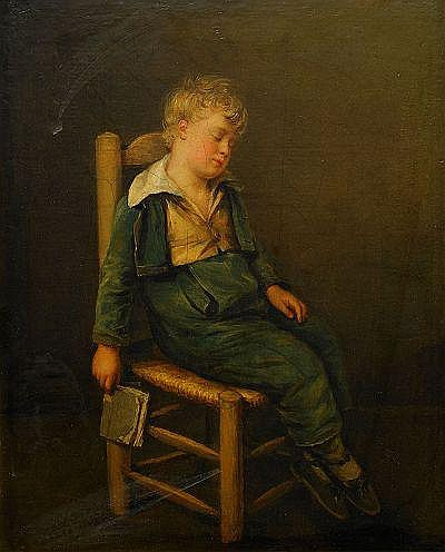 JEAN ANTOINE PINCHON Frankrike 1772-1850 Sovande