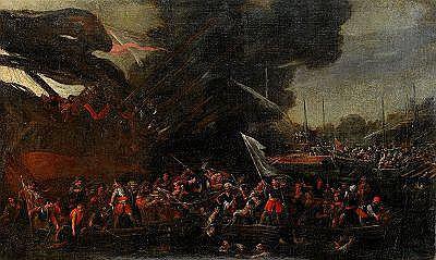 CORNELIS DE WAEL Holland/Italien 1592-1667,