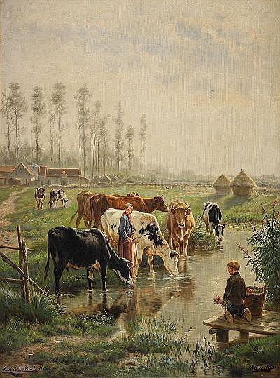 HENRI DE BEUL Belgien 1845-1900 Schaerbeek