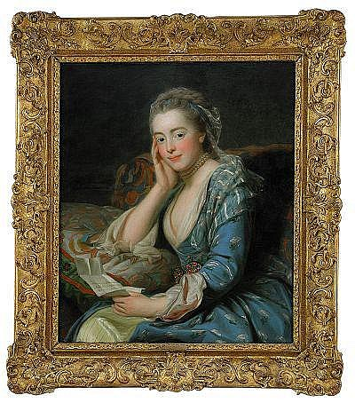 ALEXANDER ROSLIN 1718-1793 Porträtt föreställande