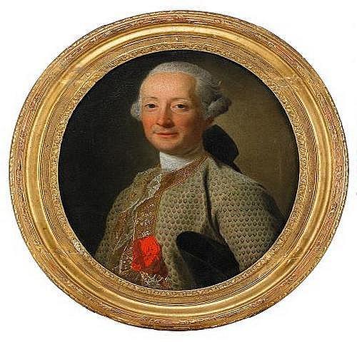 ALEXANDER ROSLIN 1718-1793 Portratt av dling ikldd