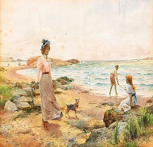 ALFRED AUGUSTUS GLENDENING England 1861-1907 A