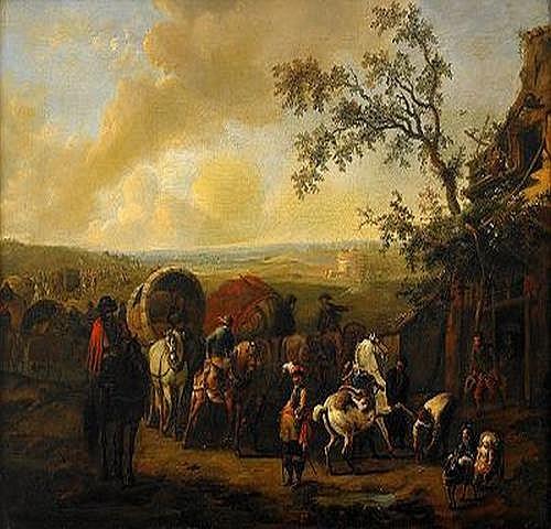 JAN FRANS I VAN BREDAEL Holland 1686-1750