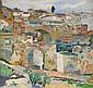 CARL WILHELMSON 1866-1928 Stadsmotiv fran Ronda,, Carl Wilhelmson, Click for value