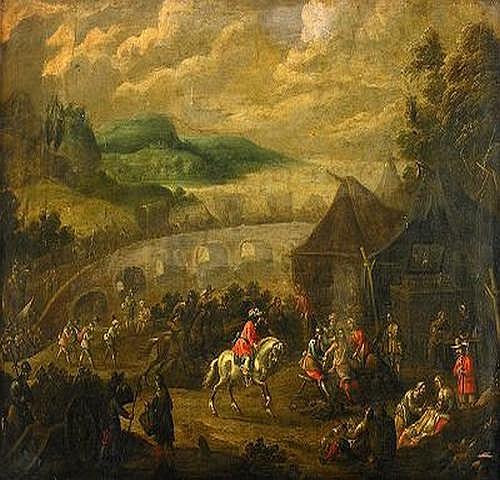 SIMON VAN DOUW Flandern 1630-1677, tillskriven
