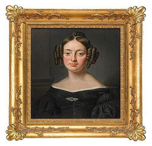 AXEL JOHAN FAGERPLAN 1788-1865 Portratt av