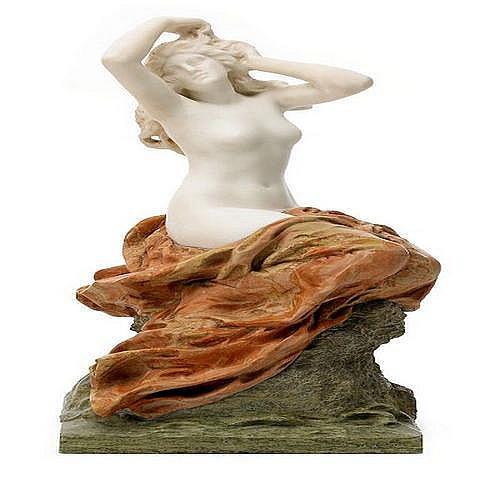 GUSTAVE FREDERIC MICHEL Frankrike 1851-1924 Venus