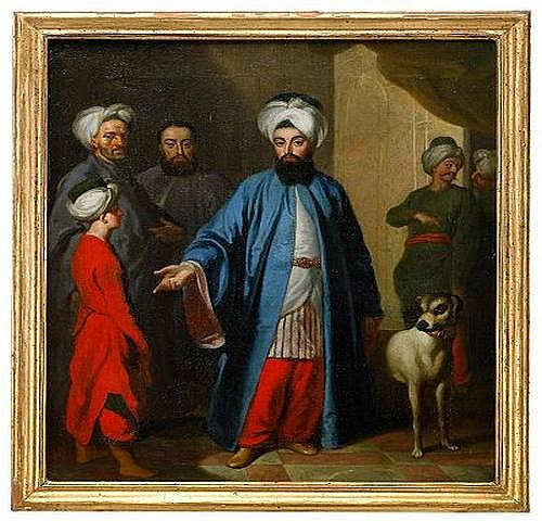 GEORG ENGELHARD SCHRODER 1684-1750 Turkiska