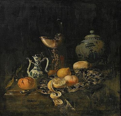 JURIAEN VAN STREECK Holland 1632-1687 Stilleben