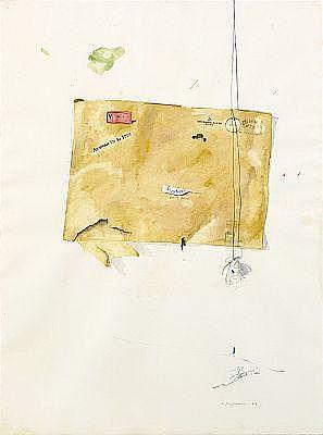 LENNART ASCHENBRENNER född 1943 Det tomma kuvertet