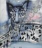 MADELEINE PYK född 1934 Leo Signerad M. Pyk. Olja, Madeleine Pyk, Click for value