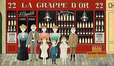 FERNAND BOILAUGES Frankrike 1891-1991 la Grappe D