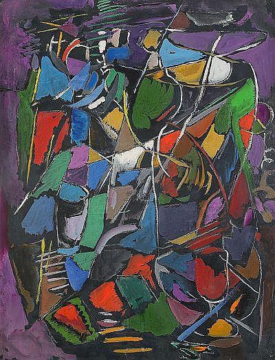 ANDRÉ LANSKOY Frankrike 1902-1976 komposition